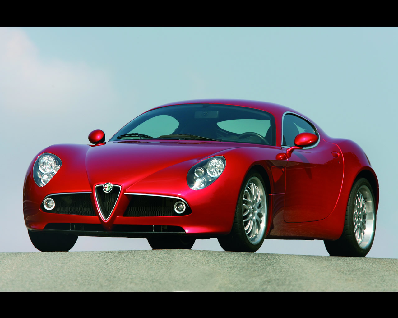 Alfa C on Alfa Romeo Spider Frame