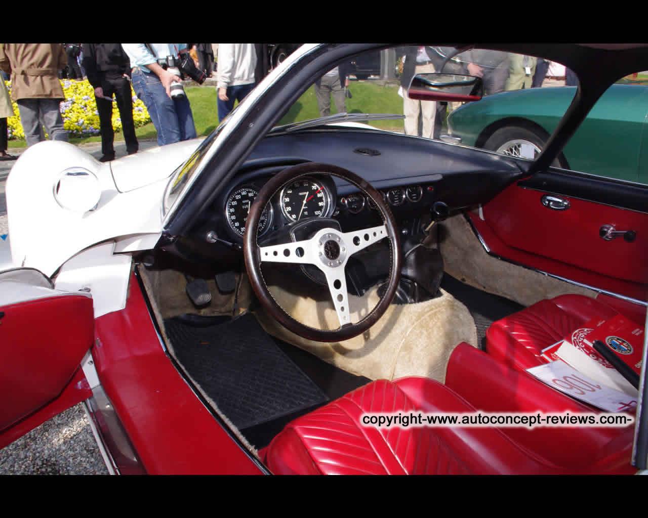 Romeo Giulia 1600 TZ2 Coup Pininfarina 1965