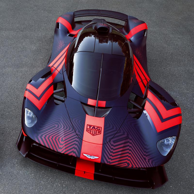 Aston Martin Valkyrie Sport: Aston Martin Hybrid Valkyrie Hypercar Preparing For Le