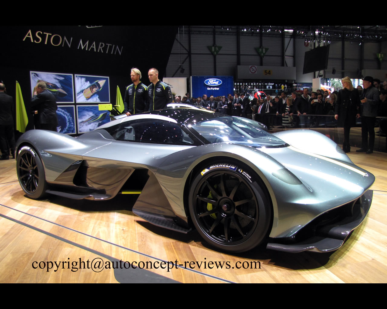 Aston Martin Hybrid Valkyrie 2020