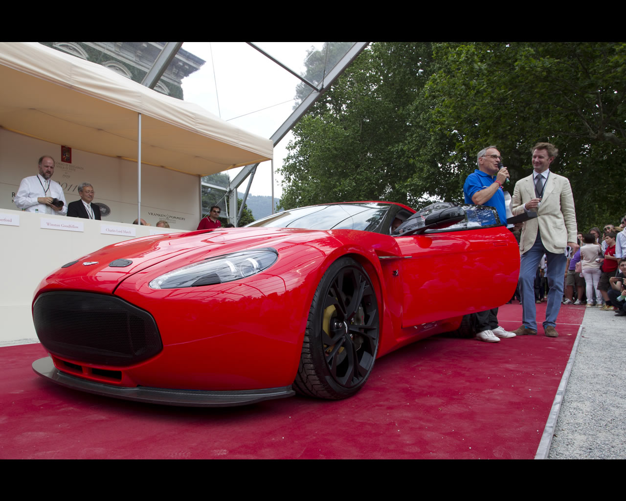 Aston Martin V Zagato - Aston martin v12 zagato specs