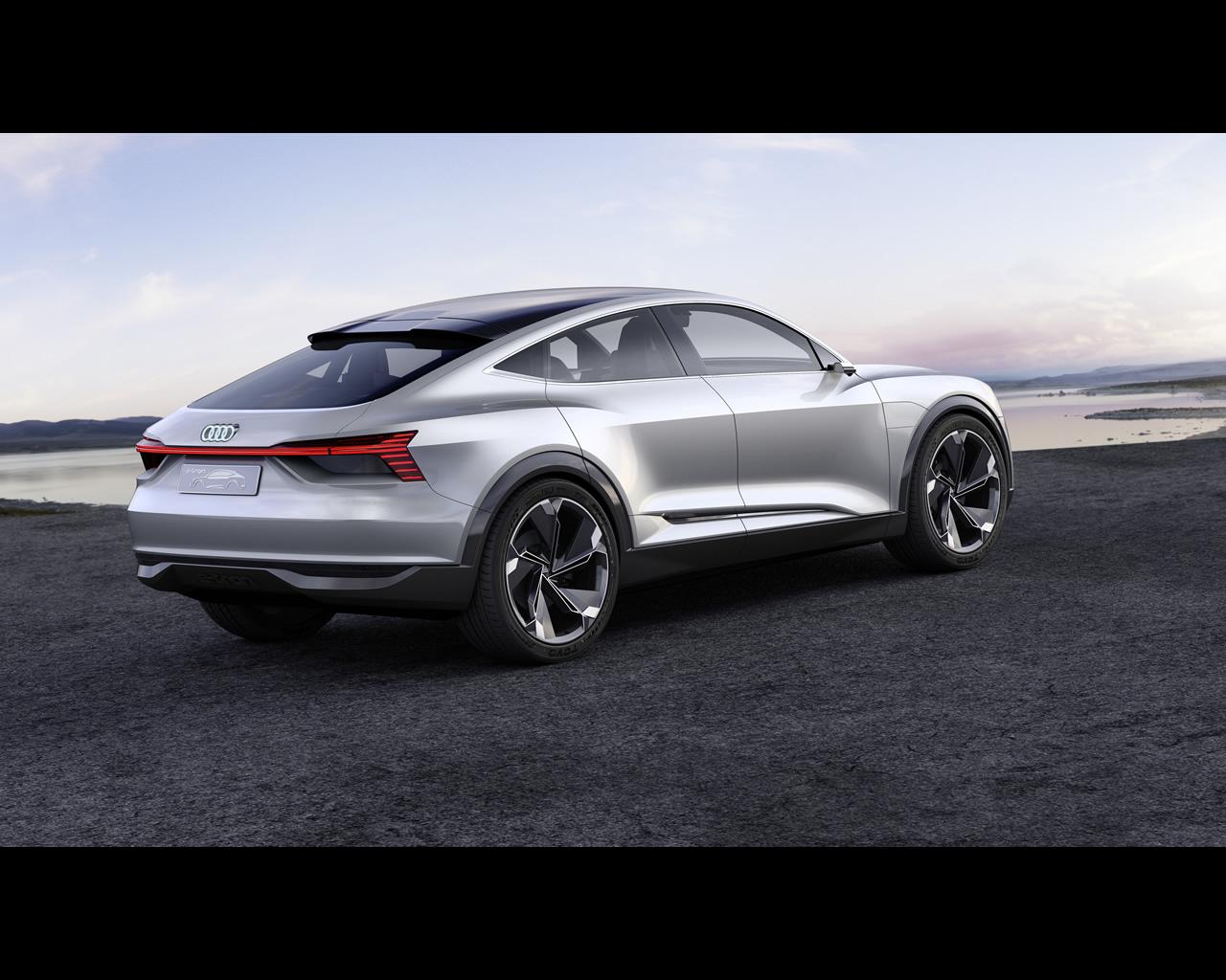 Audi E-tron Sportback Electric Concept Announced For
