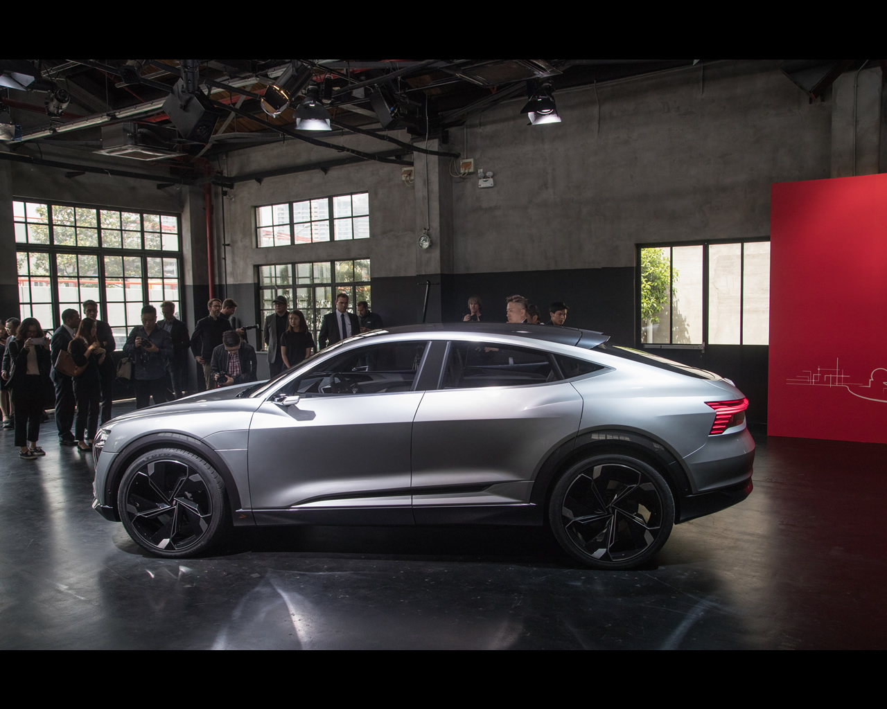Audi E Tron Sportback Electric Concept Announced For