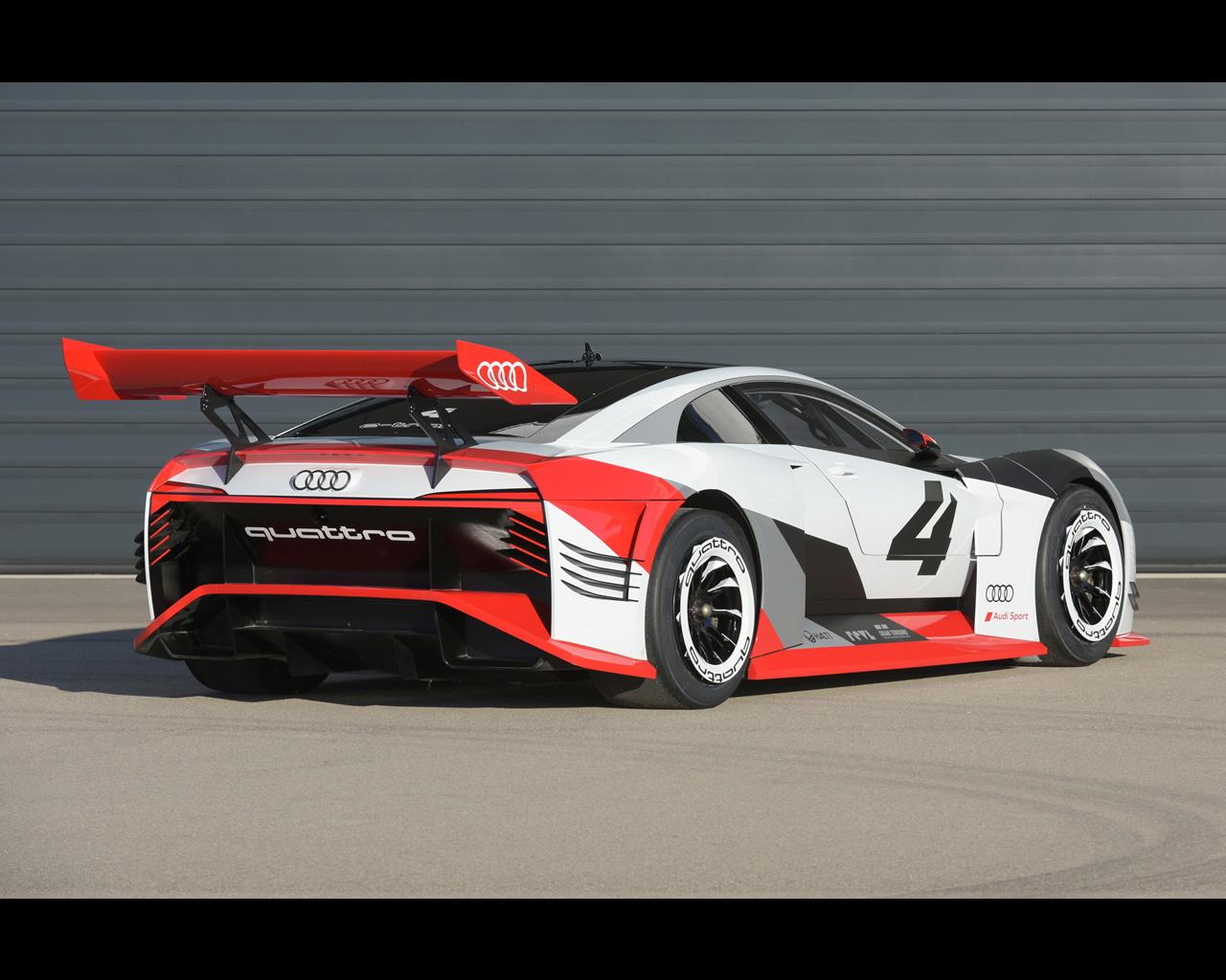 Audi e-Tron Vision Gran Turismo Electric Concept 2018