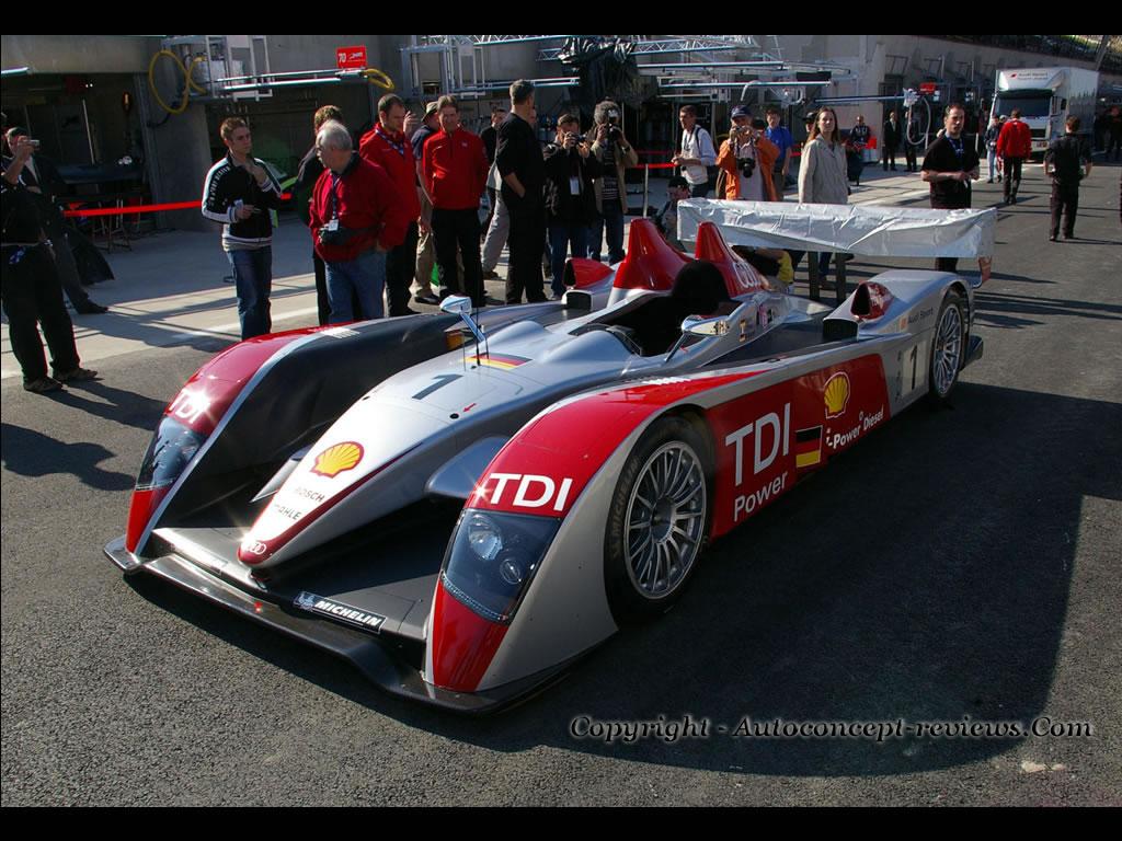 Audi R10 Tdi 24 Hours Le Mans 2007 Test Days
