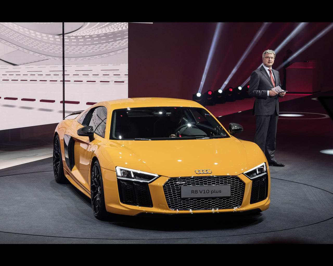 the Audi R8 V10, R8 V10 plus, R8 electric etron and motorsport R8 LMS