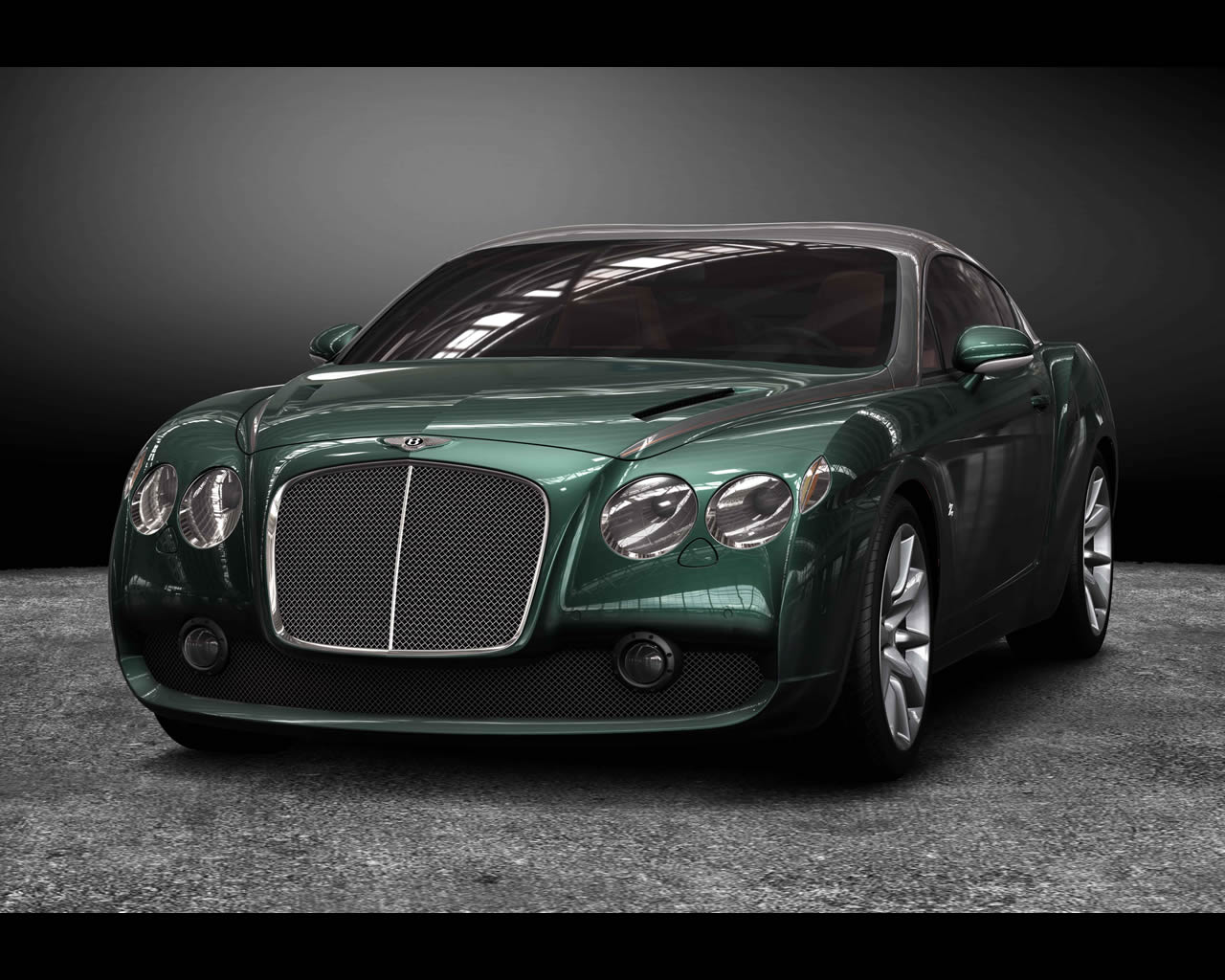 Bentley Gtz Zagato 2008