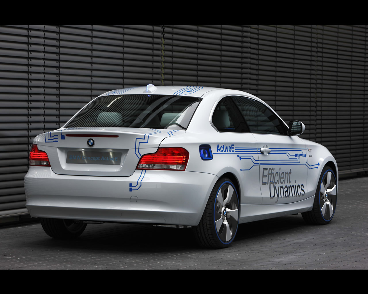 BMW 1 Series ActiveE Electric propulsion Concept 2010