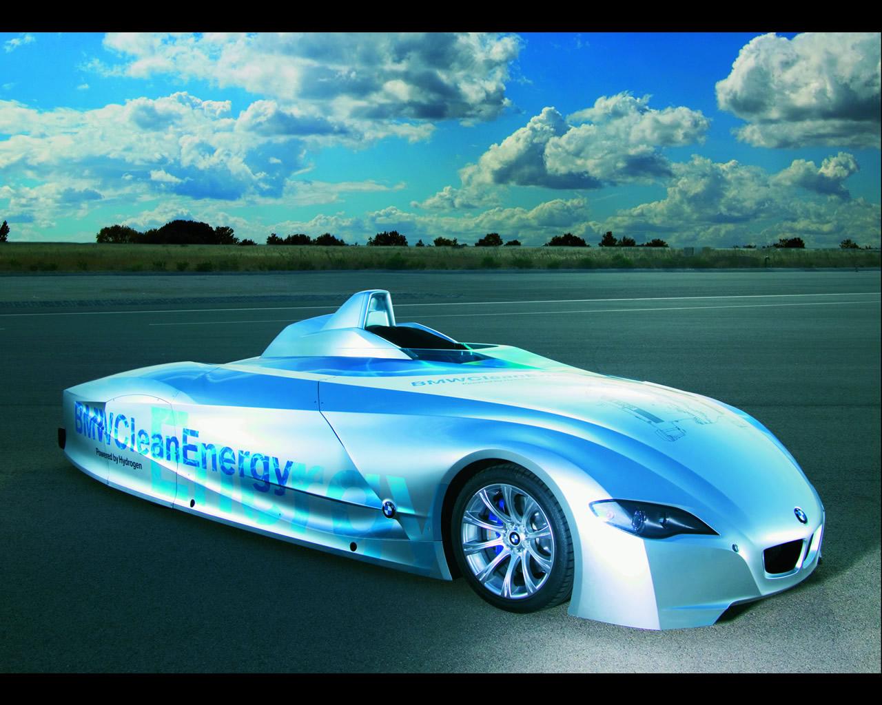 BMW H2R Hydrogen Record Car 2004