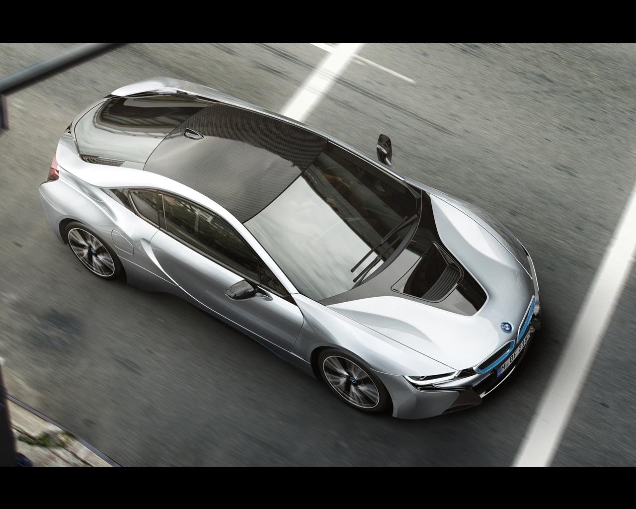 BMW I8 Plug-in Hybrid Sports Car 2013