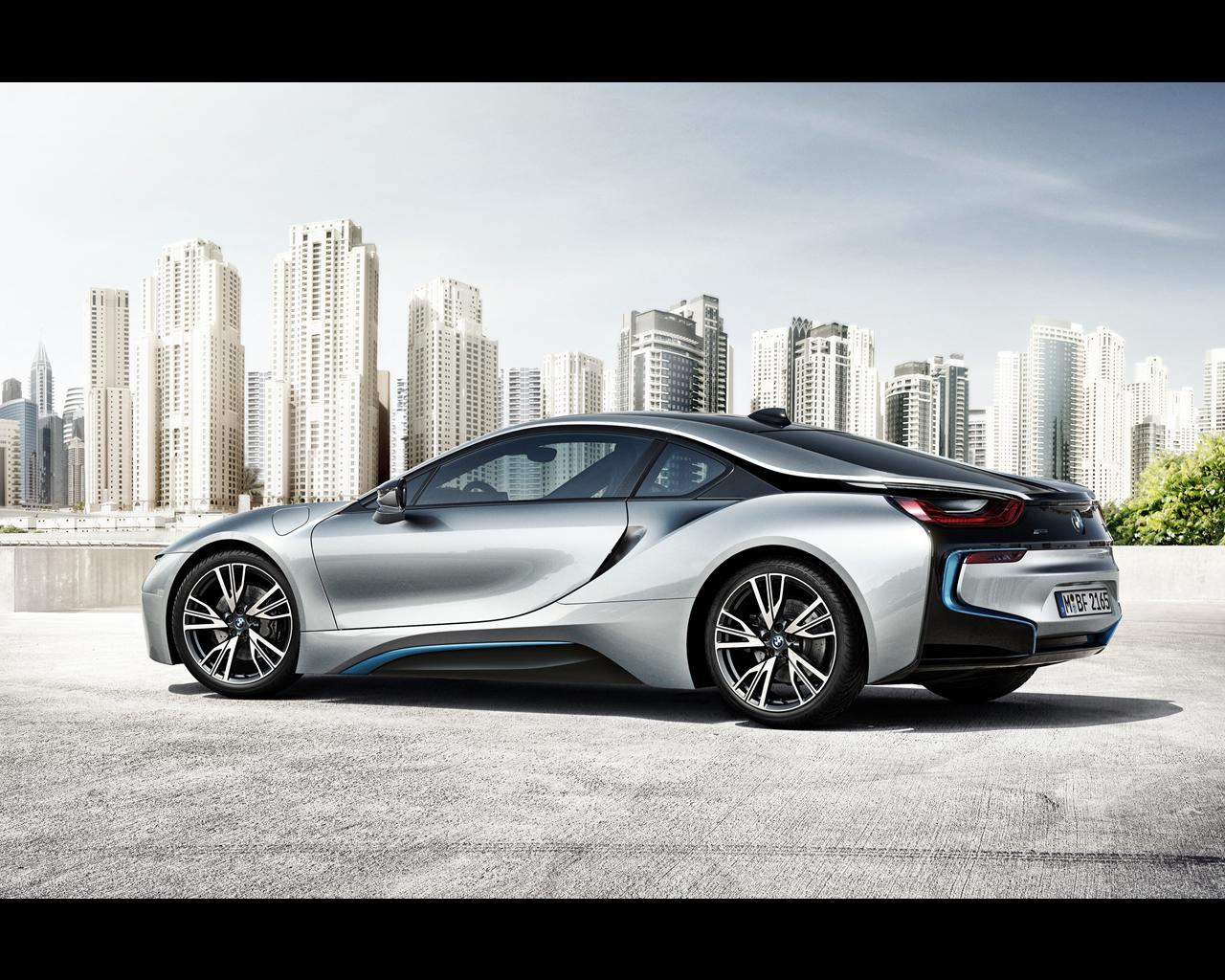 2013 bmw i8 plug in hybrid sports car 2013