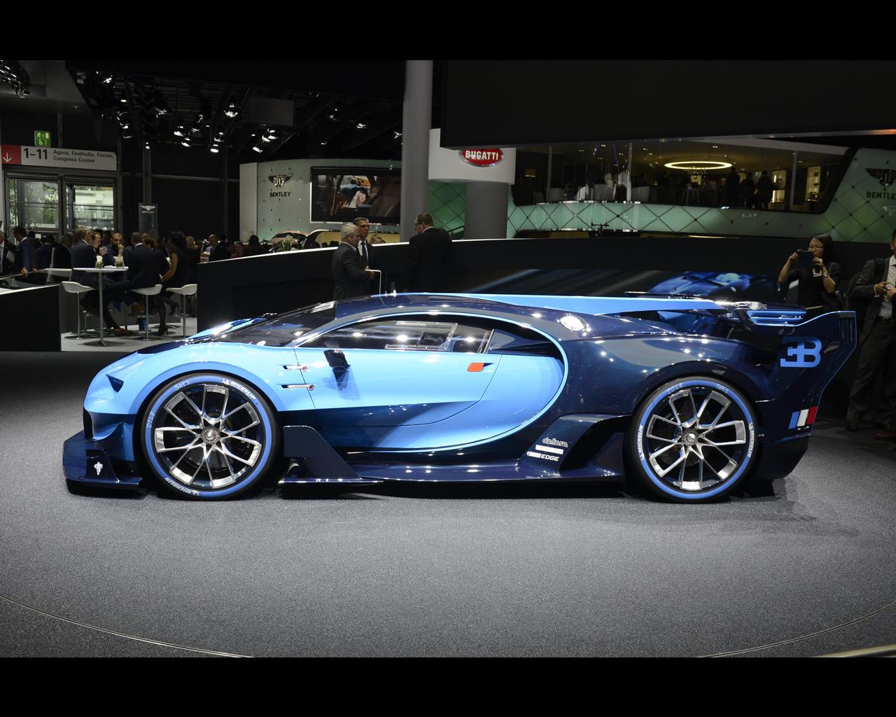 Bugatti Vision GT (Gran Turismo) 2015