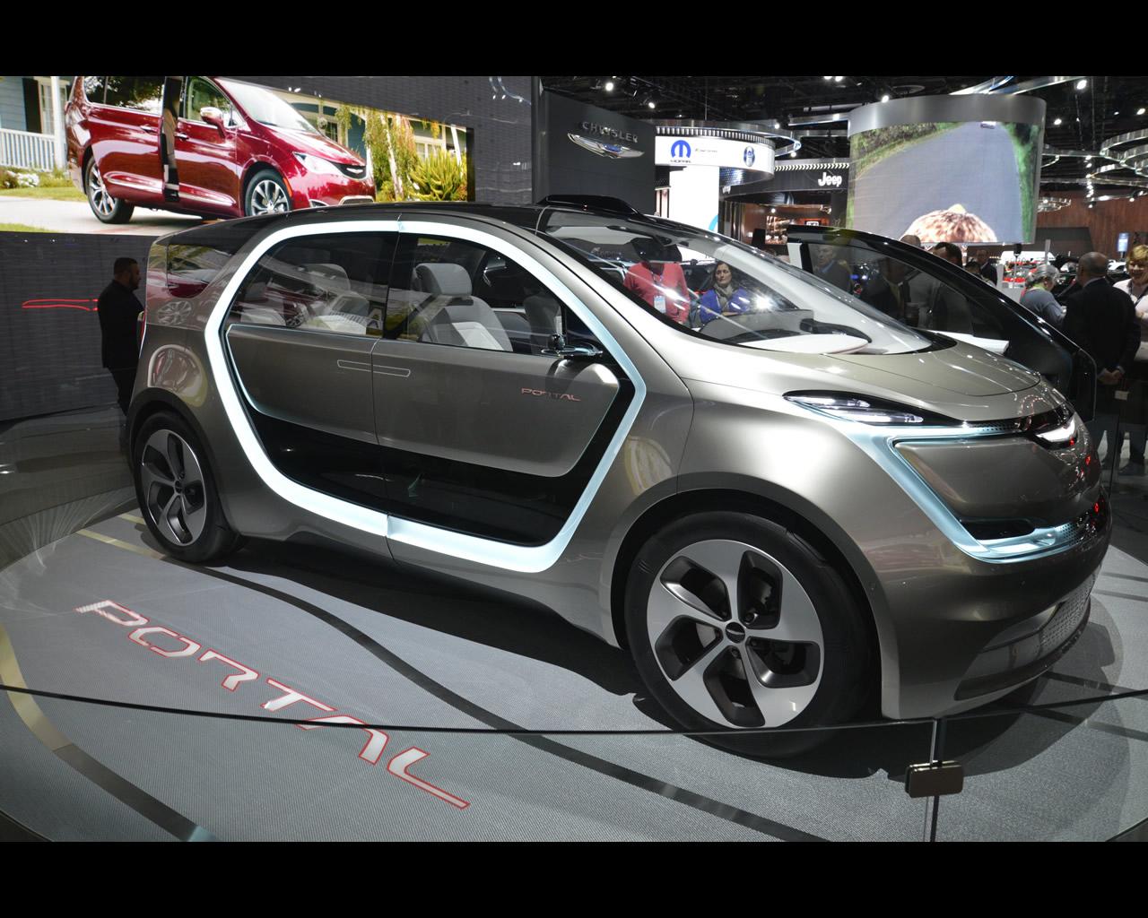 Chrysler Portal All Electric Concept 2017