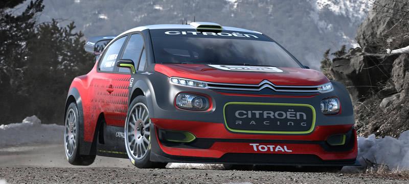 C3 WRC CONCEPT CAR 2017