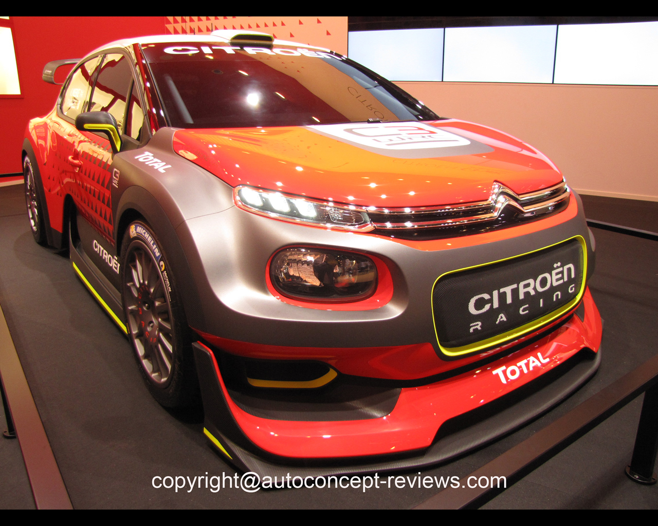 citroen c3 wrc concept car 2017. Black Bedroom Furniture Sets. Home Design Ideas