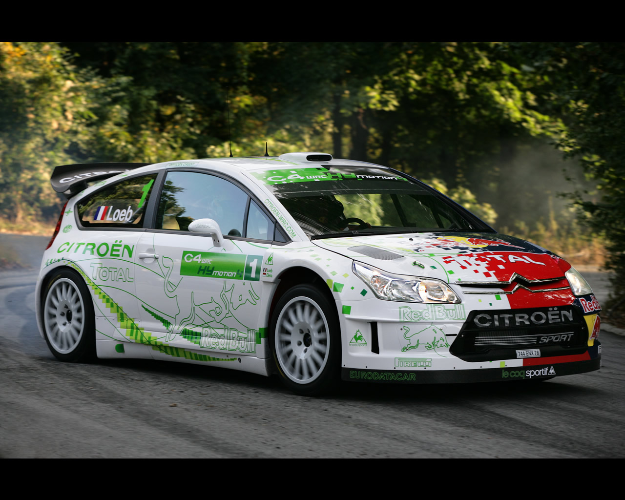 Noise When Accelerating >> Citroen C4 WRC HYmotion4 Concept