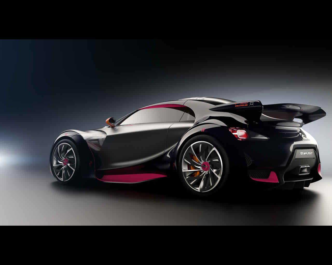 citro n survolt electric sports car concept 2010. Black Bedroom Furniture Sets. Home Design Ideas