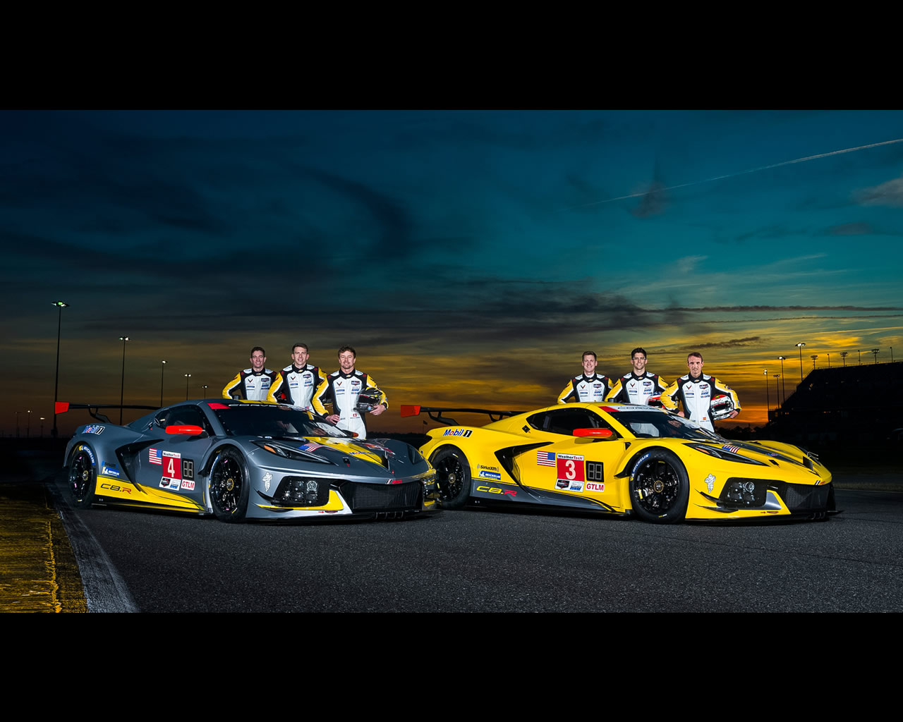 Corvette C8-R mid-engined racing car ready for 2020 season