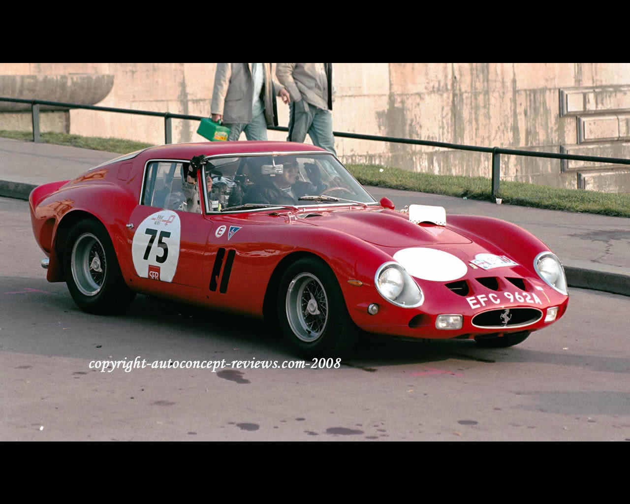 ferrari 250 gto gran turismo omologato 1962 1964. Black Bedroom Furniture Sets. Home Design Ideas