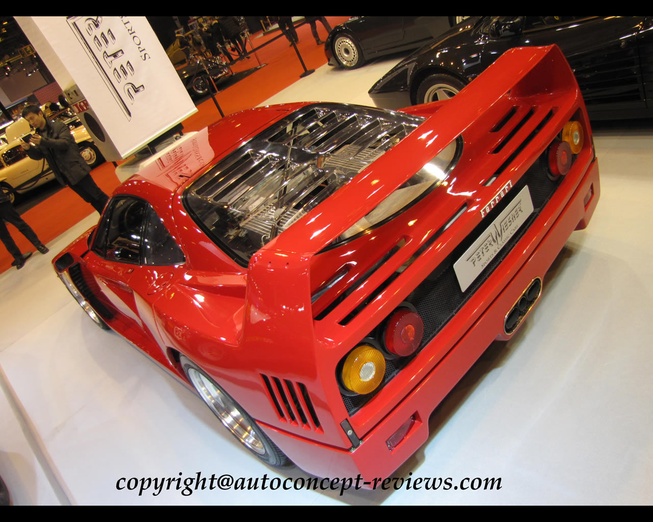 FERRARI F40 and Competition F40 GTE and F40 LM 1987 -1992