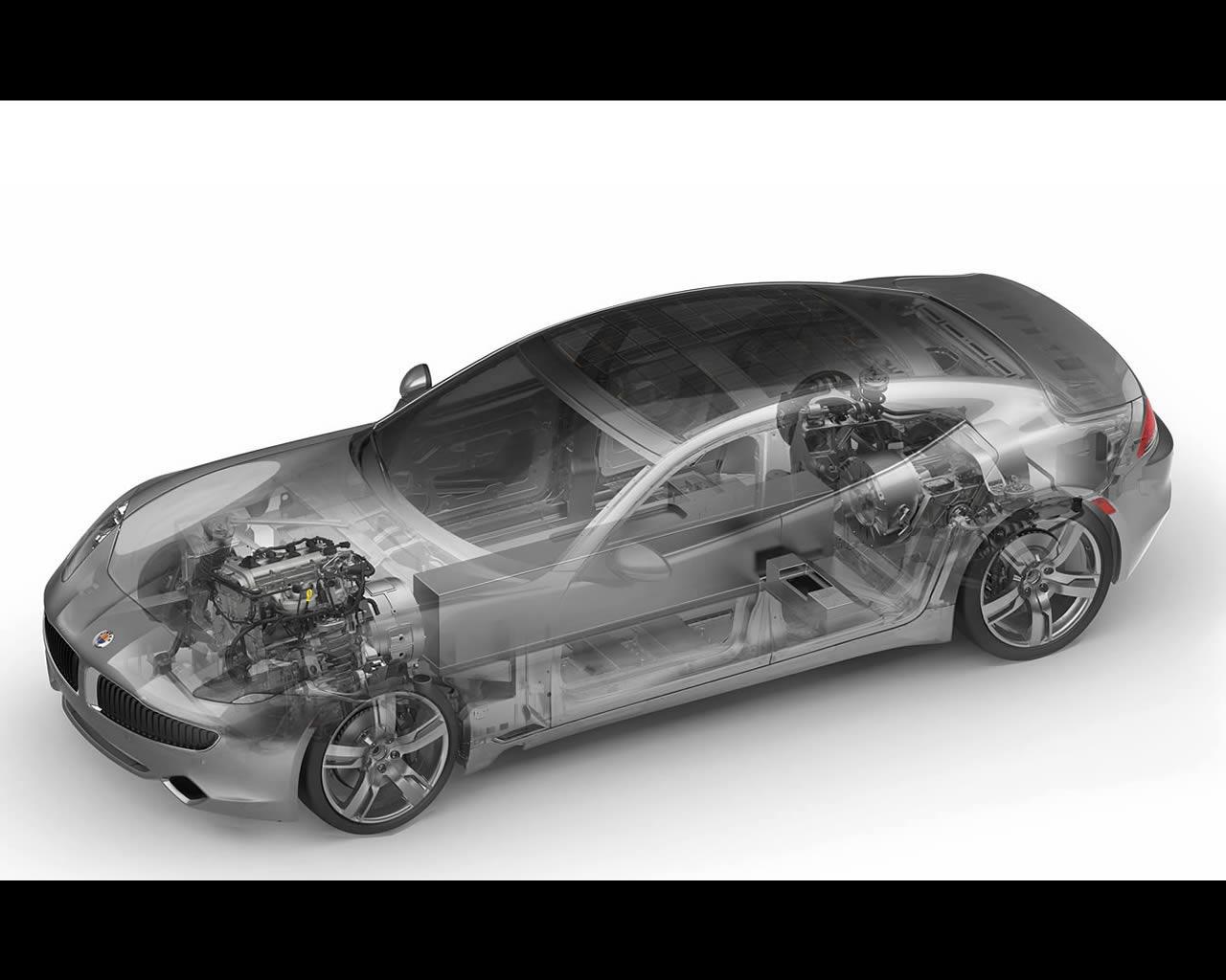 Fisker Karma Plug In Hybrid Electric Vehicle With Range