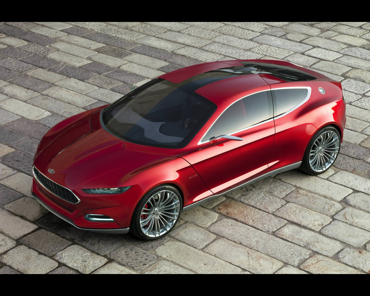 Ford Evos Concept Vehicle Concept 2011 Ford