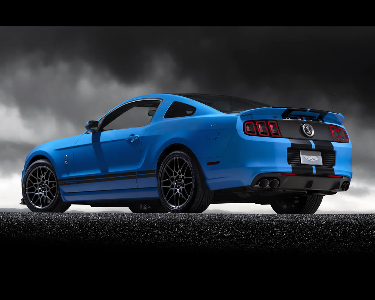 Ford Mustang Shelby Gt500 V8 Supercharged 2013