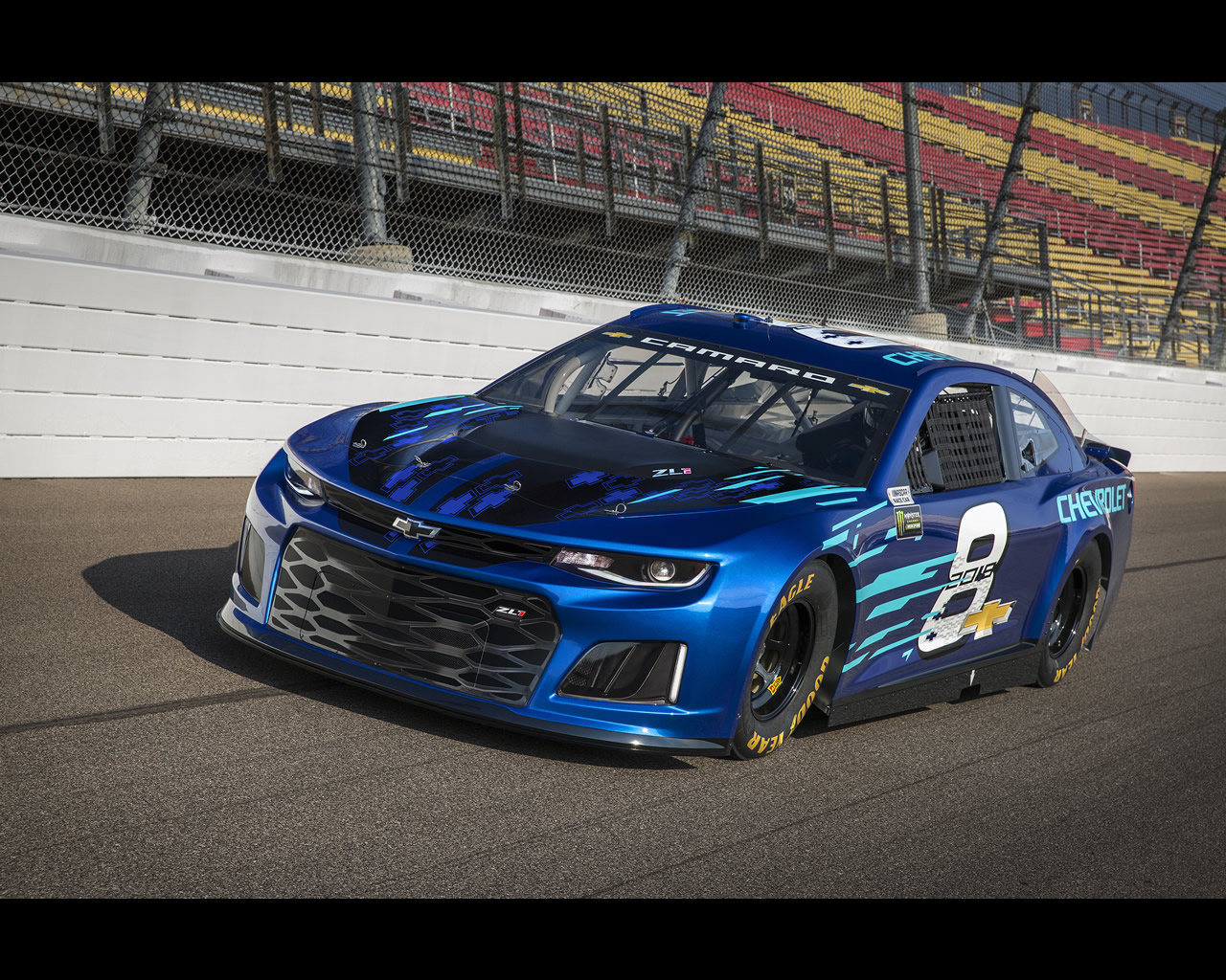 Chevrolet Camaro ZL1 NASCAR Cup and ZL1-1LE for 2018