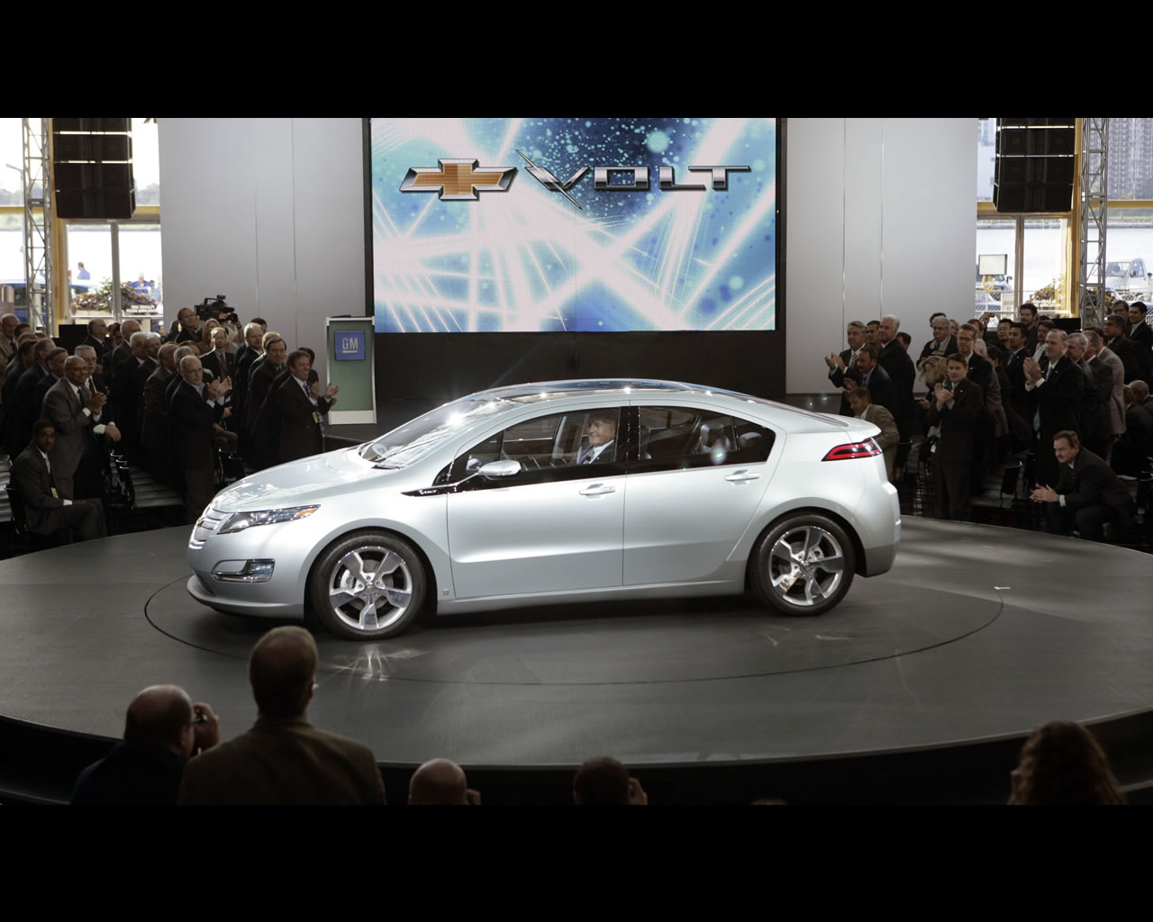 General Motors Chevrolet Volt Production Show Car 2011