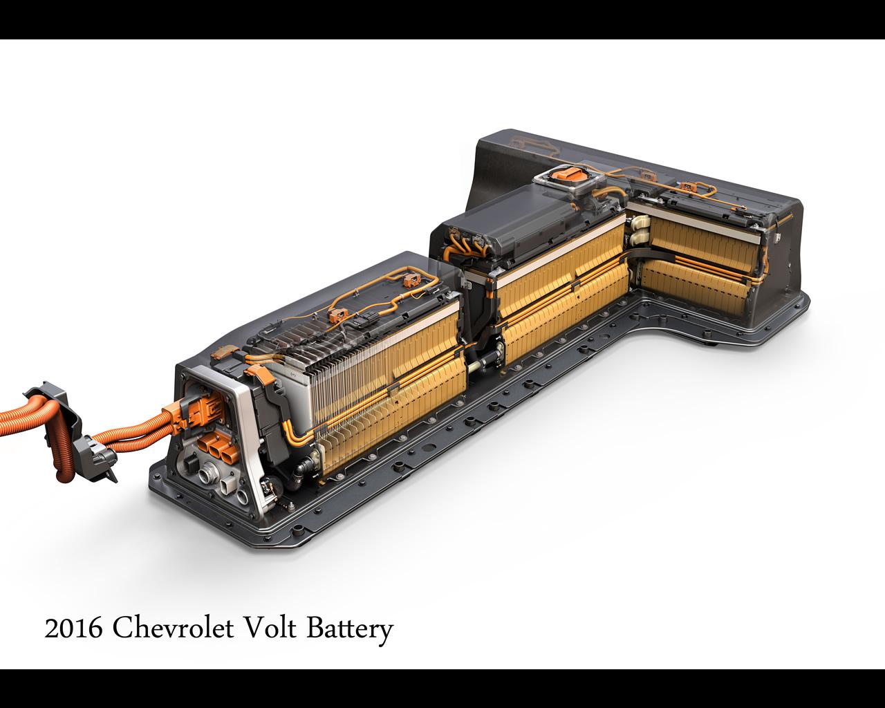 Chevrolet Electric Volt With Range Extender 2016