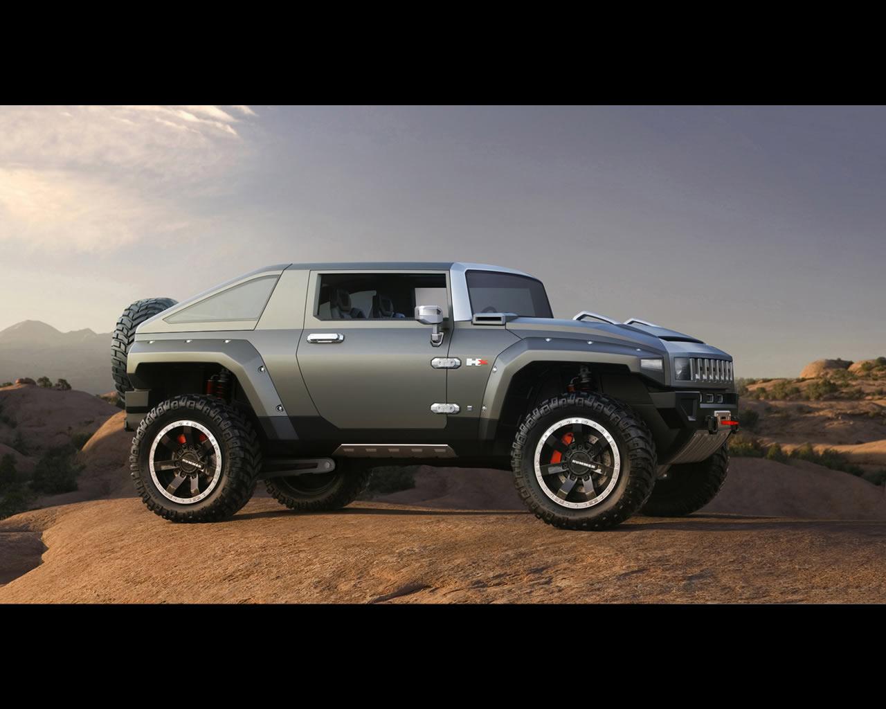 General Motors Hummer Hx Concept 2008