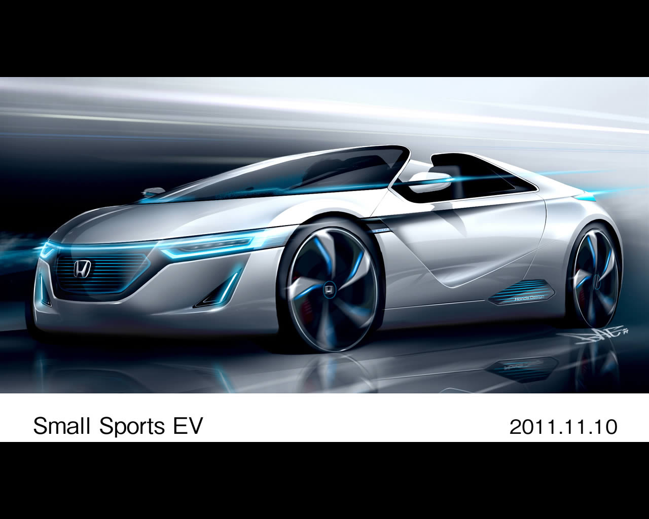 Wallpapers Honda Ev Ster Electric Sports Concept
