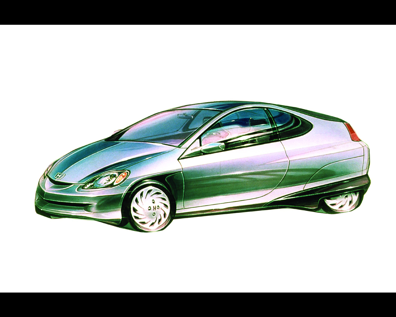Car review honda insight hybrid for Honda hybrid vehicles