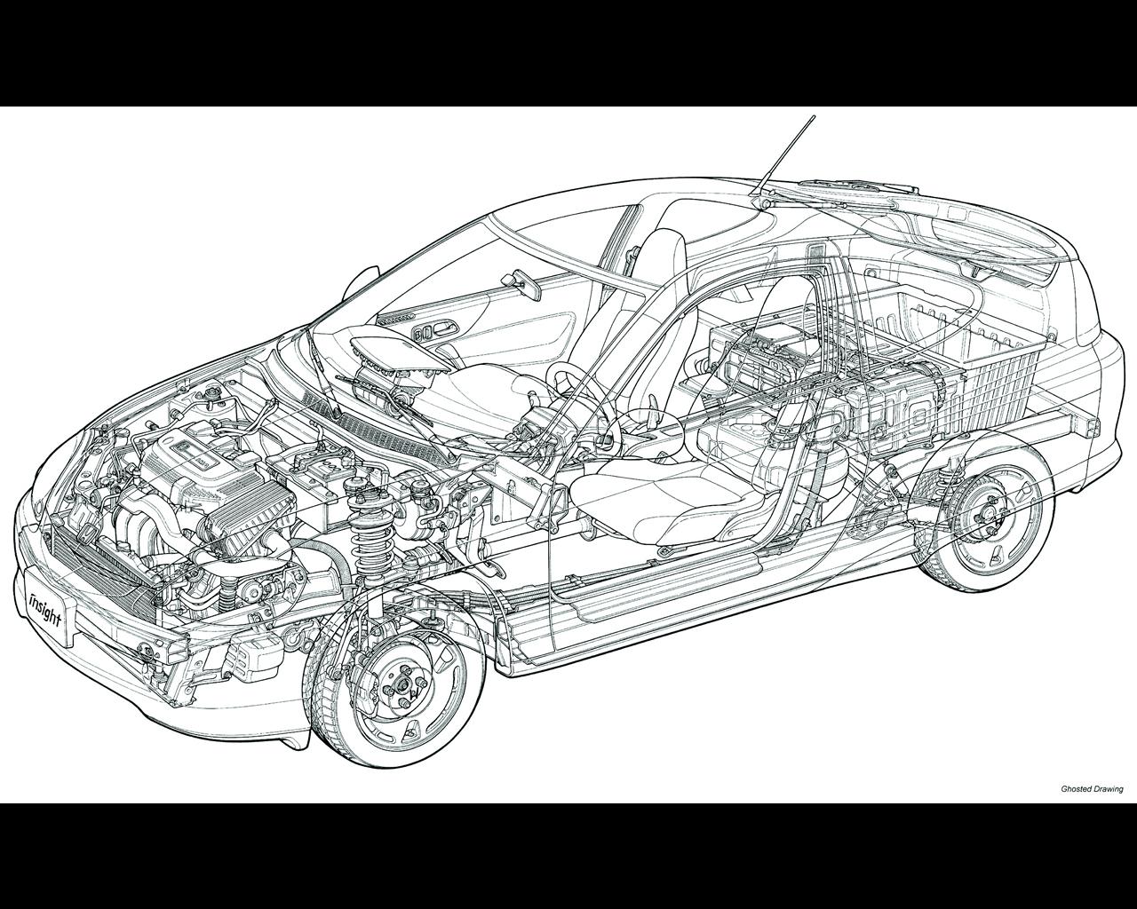 honda insight hybrid 2000