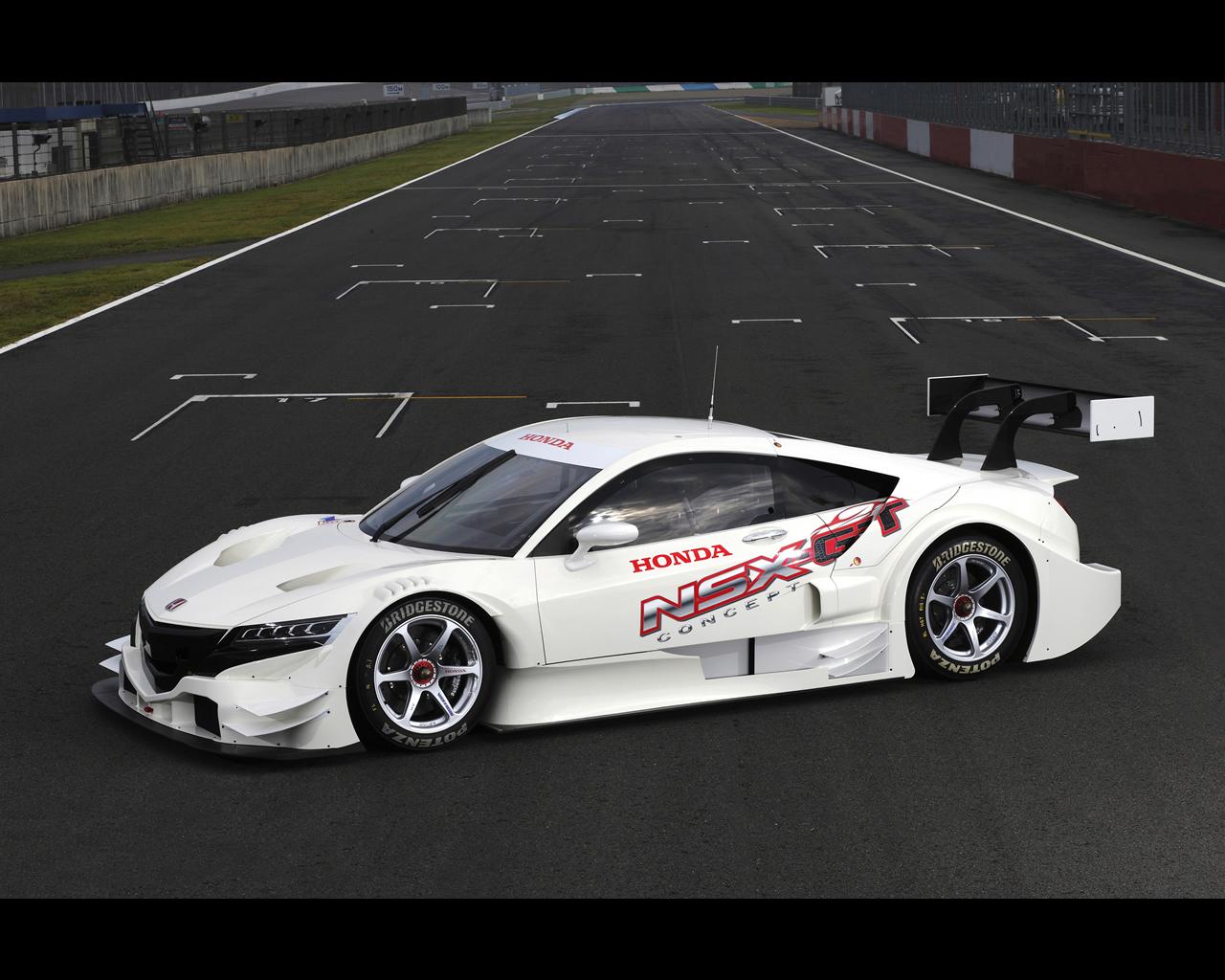 Honda Nsx Concept Gt Hybrid Prototype For 2014
