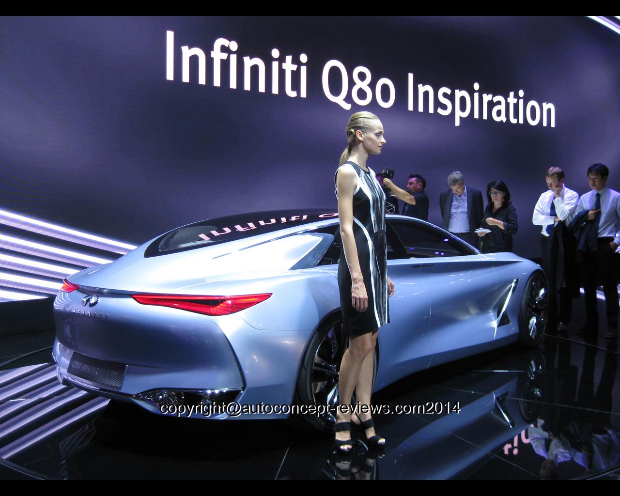 Infiniti Q80 Concept 2014 Wallpapers