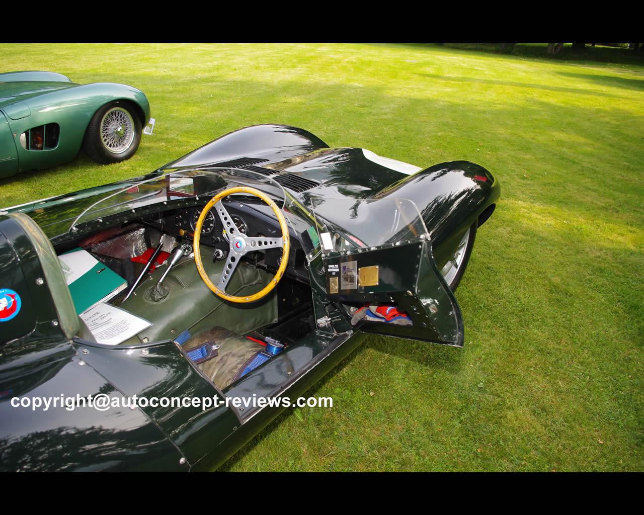 Jaguar d type 1954 1957