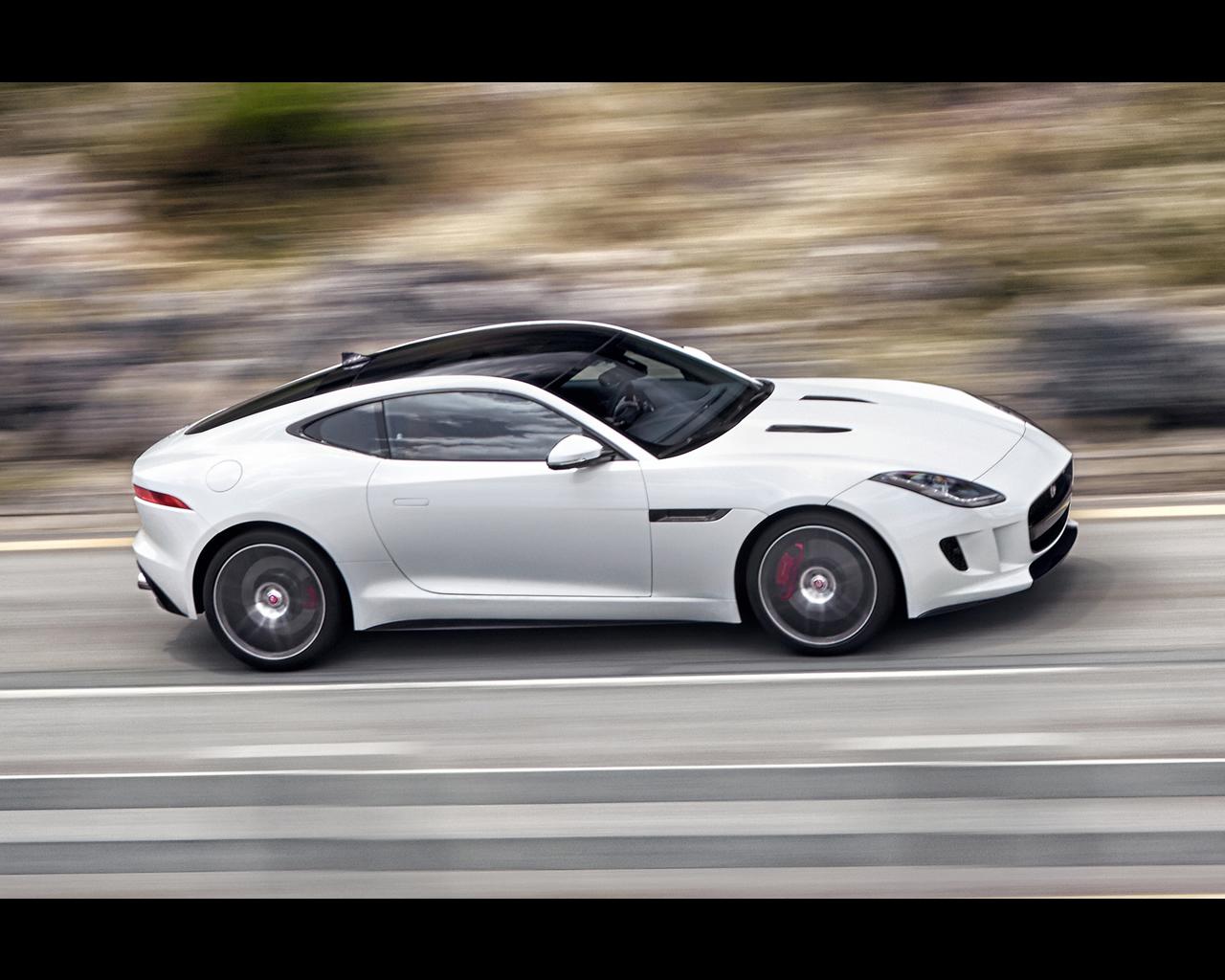 Jaguar f type coup 2014