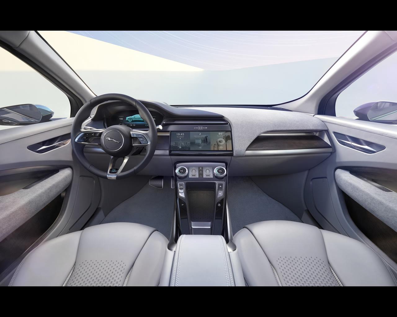 Jaguar I-PACE Battery Electric SUV Concept 2016