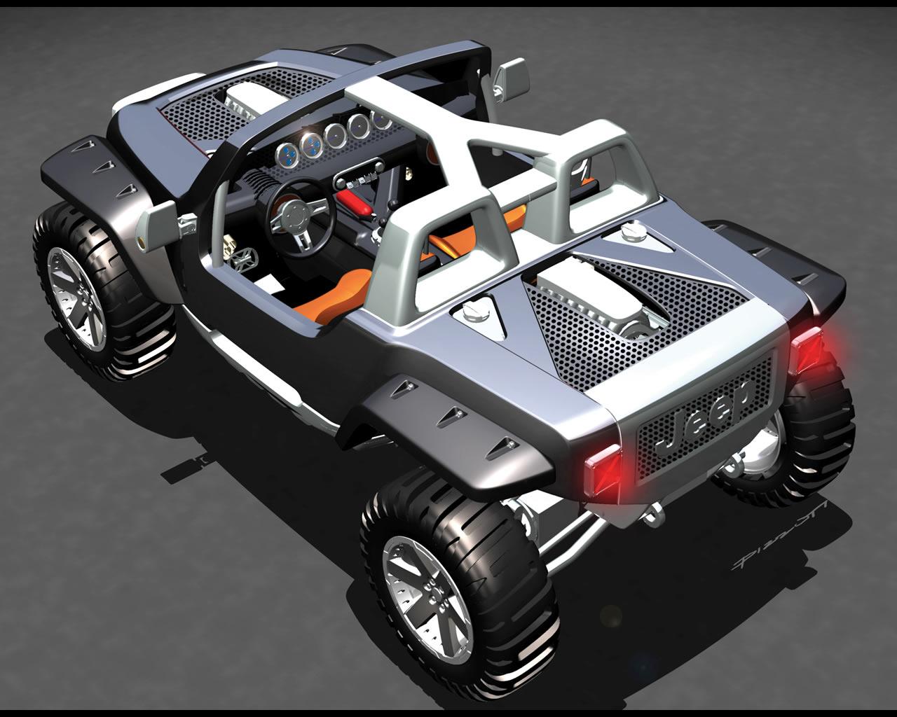 Jeep Hurricane Twin-engine Jeep Hurricane Engine