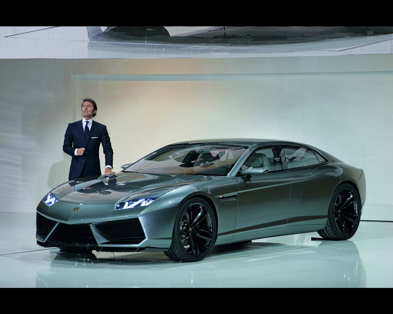 Lamborghini Estoque Sedan Concept 2008