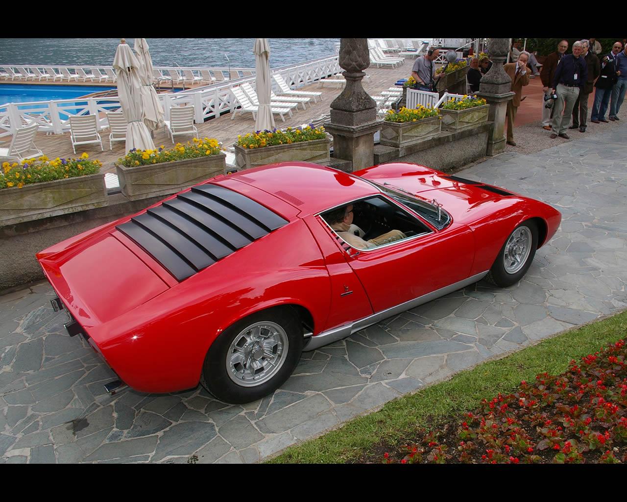 Lamborghini Miura S Coupé