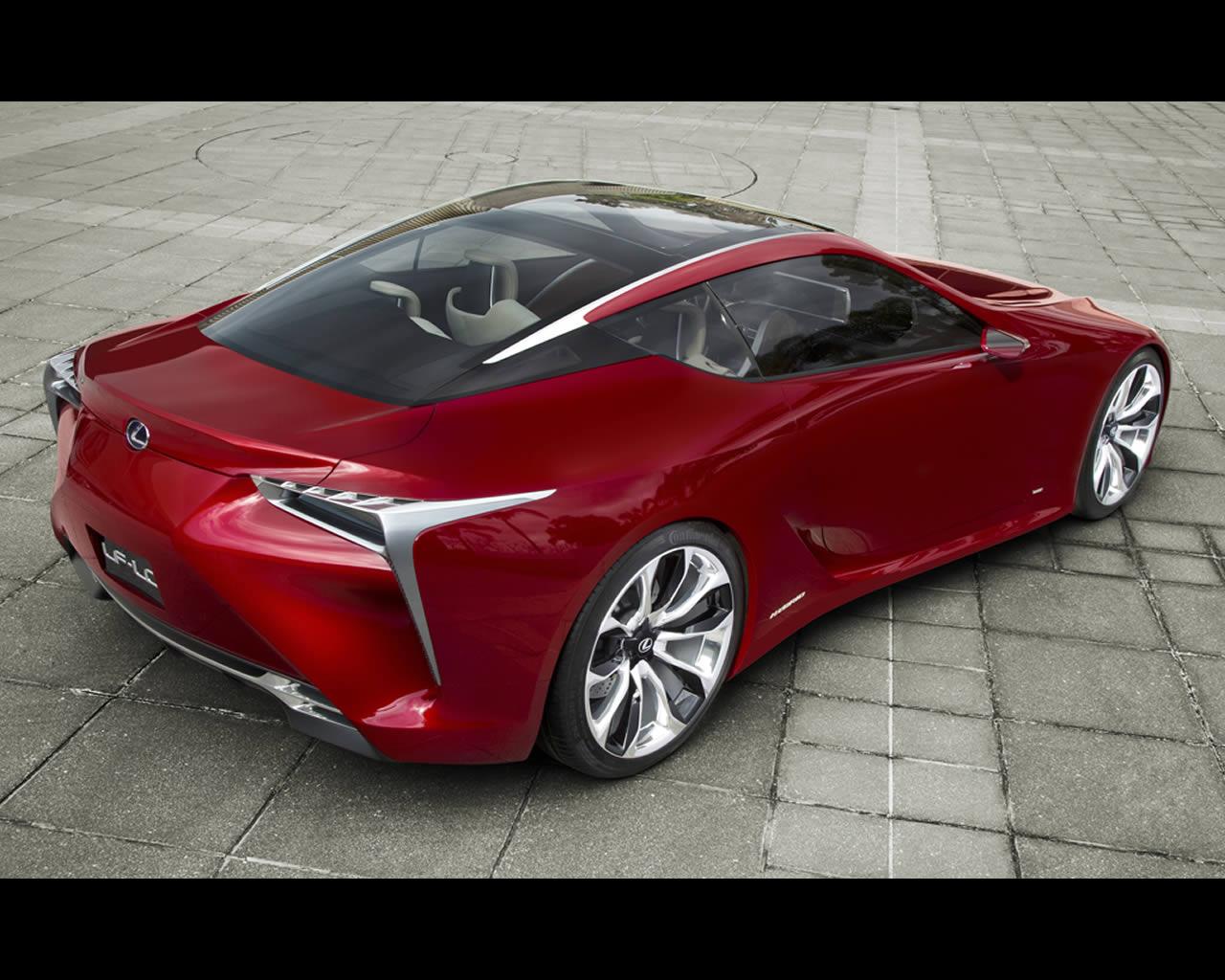 lexus lf lc hybrid 2 2 sport coupe design concept 2012. Black Bedroom Furniture Sets. Home Design Ideas