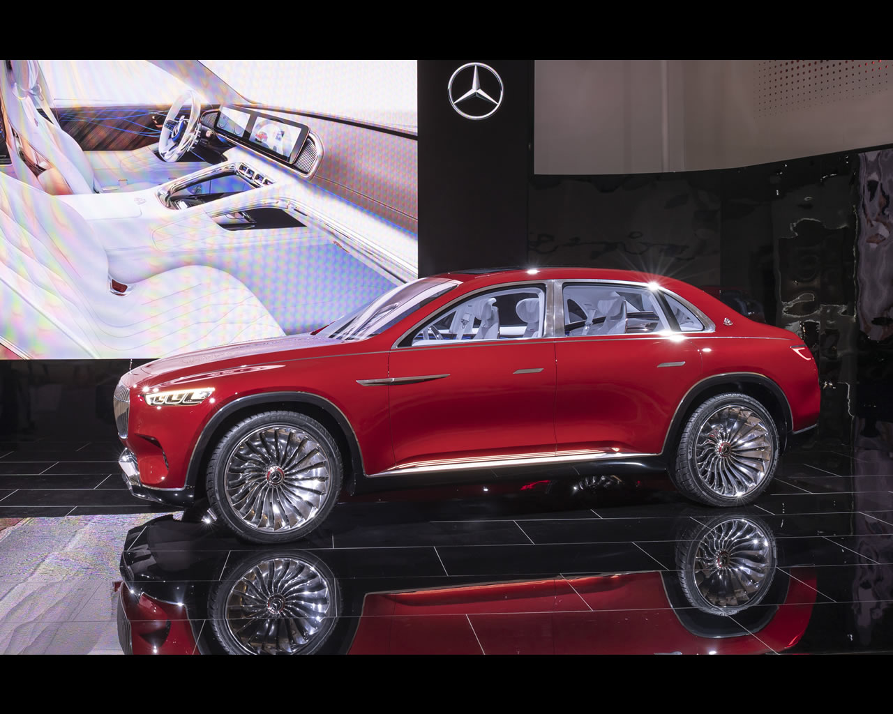 Mercedes Maybach Vision Ultimate Luxury Electric Suv