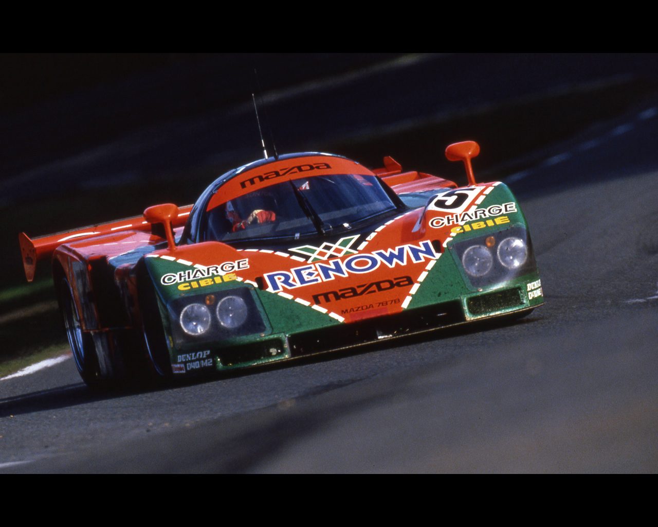 mazda 787b 1991 le mans winner with rotary piston engine. Black Bedroom Furniture Sets. Home Design Ideas