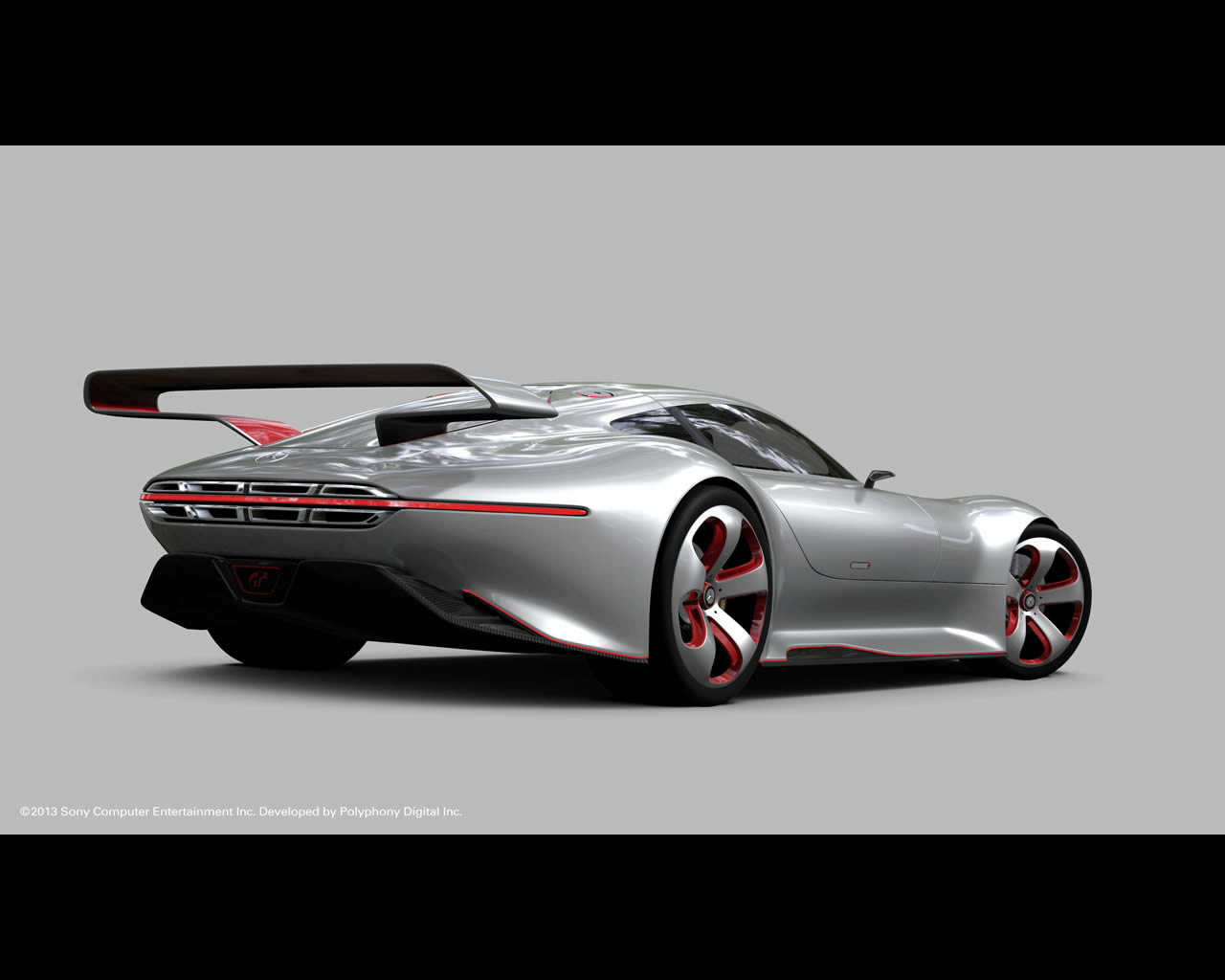 Mercedes benz amg vision gran turismo developed for the for Mercedes benz car racing games