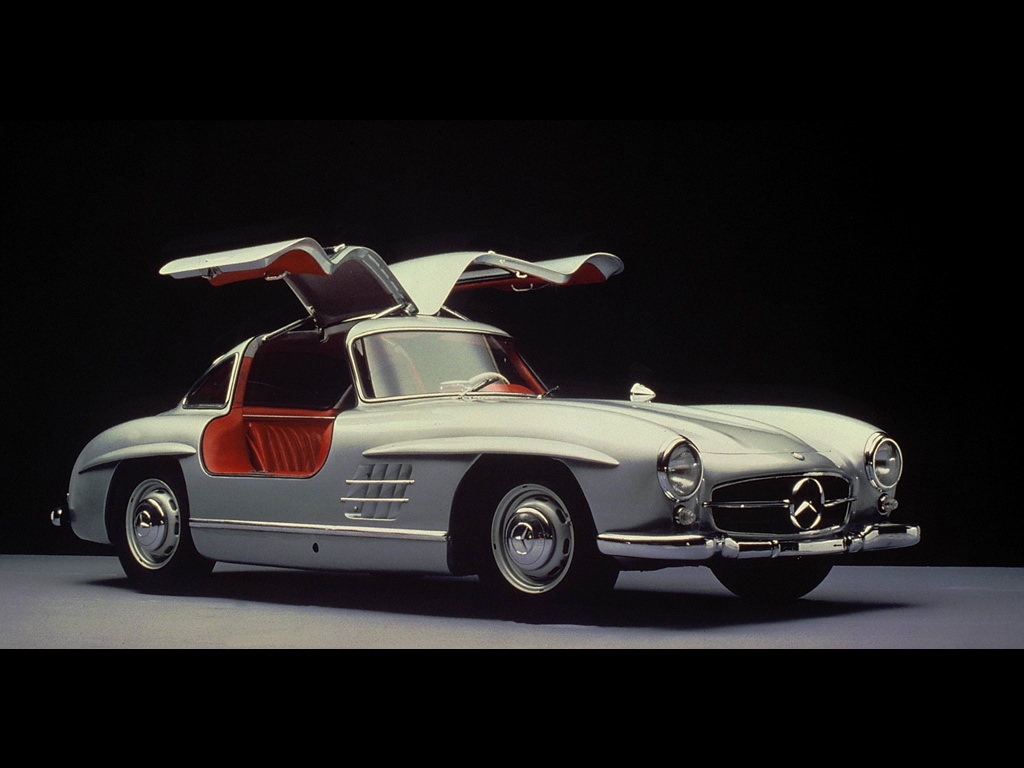 Mercedes 300 sl gullwing coupe 1955 Wing motors automobiles