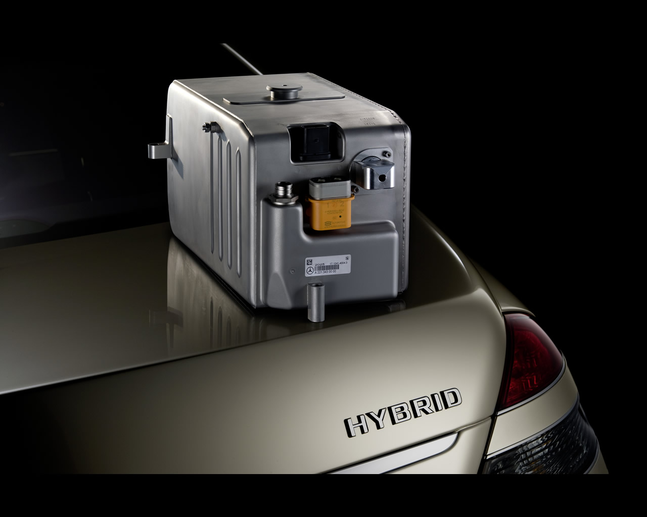 Mercedes benz s400 bluehybrid 2008 for Mercedes benz batteries