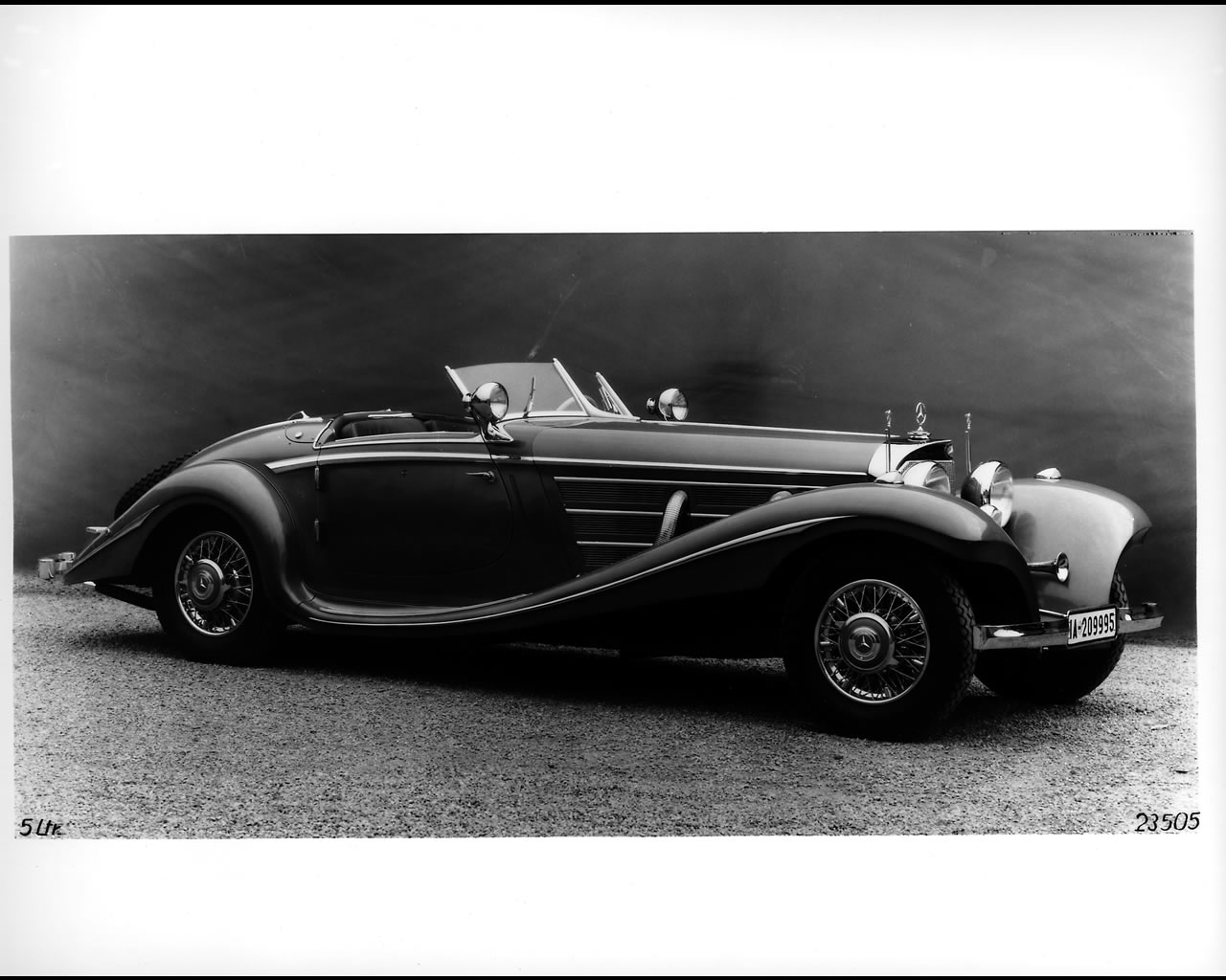Mercedes Benz 540K Spezial Roadster 1939