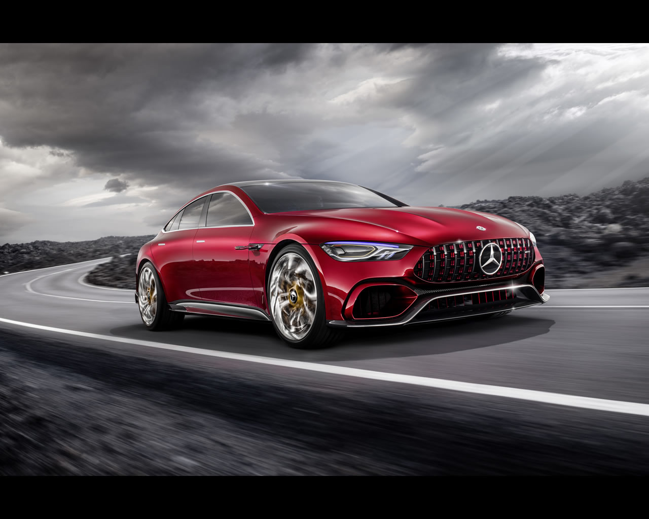 Mercedes benz amg gt hybrid concept 2017 for Hybrid mercedes benz